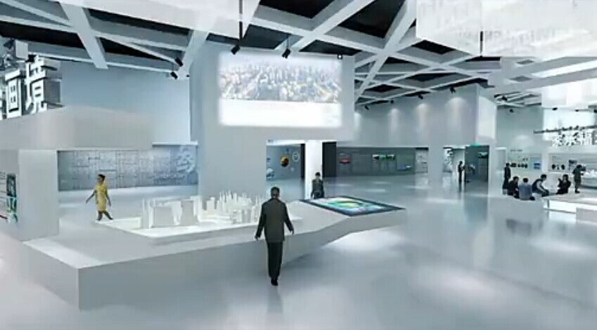 数字展厅集各种多媒体展览展示系统为一体的综合展示平台,包括数字沙盘、环幕/弧幕/球幕影厅、迎宾地幕系统、互动吧台、互动镜面及触摸屏等等。同时,由于融入了各种高新科技技术,让展厅极具内涵和吸引力,通过对视频、声音、动画等媒体加以组合应用,深度挖掘展览陈列对象所蕴含的背景、意义,带给观众高科技的视觉震撼感,大大提升了品牌的价值。